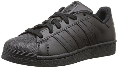 Adidas B23641, Chaussures de basketball Garçon Noir