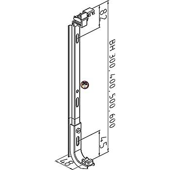 300-900 mm wie WEMEFA Wandkonsolen Heizkörper Heizung Halterung Konsole BH