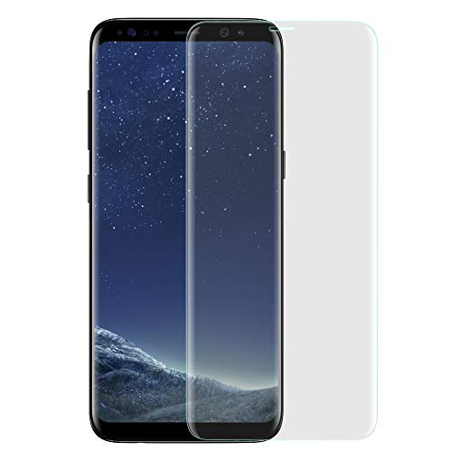 VAPIAO Panzerfolie Displayschutz kompatibel mit Samsung Galaxy S9 Folie gewölbte Displays Full Cover Curved 3D Nano Screen Protector in Transparent Screen Protector Cover
