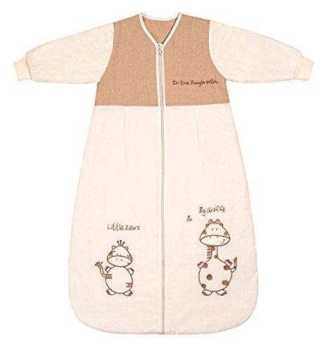 Schlummersack Baby Winter Schlafsack Langarm 3.5 Tog 56cm/Neugeborene - Giraffe