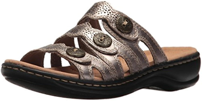 Clarks Wouomo Leisa Grace Sandal, Sandal, Sandal, Pewter Leather, 8.5 M US | unico  | Sig/Sig Ra Scarpa  7b7b84