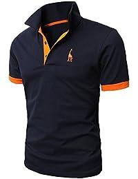 Glestore Poloshirt Homme Golf Tennis Shirt M L XL XXL