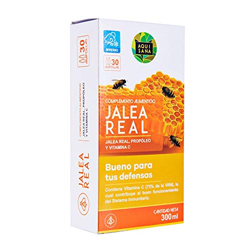 Jalea real con propóleo para mayor energía y vitalidad - Jalea con própolis y vitamina C para reforzar nuestro sistema inmune (Jalea real con propóleo)