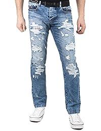 Cipo & Baxx - Jeans - Homme bleu bleu 30W x 34L