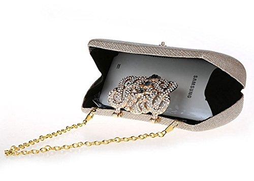 borsa fibbia Mini diamante/borsa da sera di moda/Di alta qualità per banchetti/pacchetto nuziale/Ms. frizione-E A