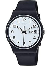 a0ecd90e7b4 Swatch Men s Analogue Quartz Watch with Plastic Strap – GB743