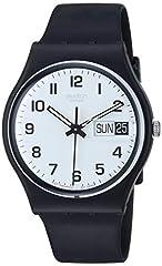 Idea Regalo - Swatch Orologio da Uomo Analogico al Quarzo con Cinturino in Plastica - GB 743