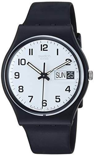 Swatch Herrenuhr Analog Quarz mit Plastikarmband - GB 743