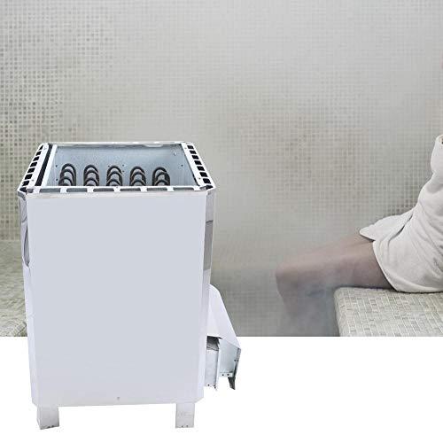 Pangding 3 Phase Sauna Dampferzeuger Externe Steuerung Edelstahl Saunaofen Heizung Ausrüstung für SPA Home Bad Hotel Dusche 380 V(12KW)