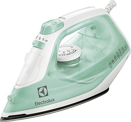 Electrolux edb1720-Fer à repasser (centrale vapor-seco, Semelle en Acier Inoxydable, 1,95m, 80g/min, Mint Colour, Blanc, 30g/min)