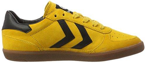Hummel Victory, Unisex Low Athletic Shoes - Amarillo Adulto (amarillo Dorado)