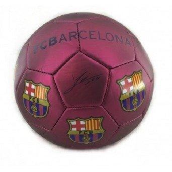 Balón de futbol oficial FC Barcelona. Firmas temporada 2017/18