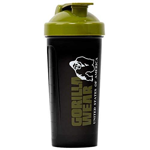 Gorilla Wear Shaker XXL - Bodybuilding und Fitness Accessoire für Damen und Herren, grün