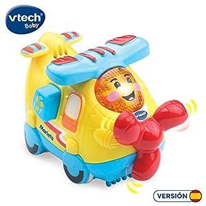 VTech- Marieta la avioneta TutTut Bólidos Vehículo Interactivo con Voz, música y Efectos de Sonido, Incluye botón Sorpresa, Multicolor (80-516922)