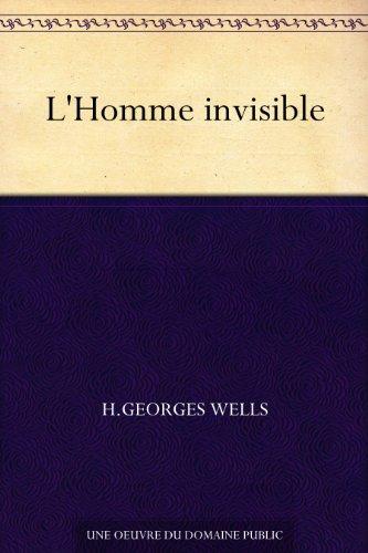 Couverture du livre L'Homme invisible