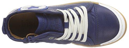 Bisgaard Shoe with Laces, Sneakers Hautes Mixte Enfant Bleu (20 Blue)