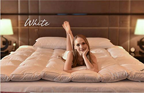Tp&dd giù spessore materasso,piumino d'oca bianca pieghevole materasso tatami,per hotel camera familiare-d 100x200cm(39x79inch)