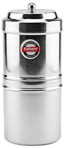 Embassy Stainless Steel Coffee Filter, 3 Cups (250 ml); Size 2