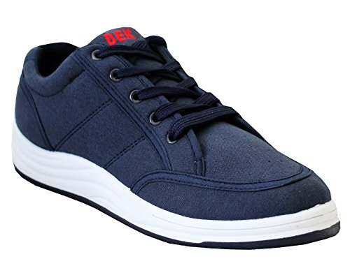 Mens Casual Canvas Boys Skate Lace up Low Top Trainers Sneakers Pumps Shoes Sizes UK 7-12