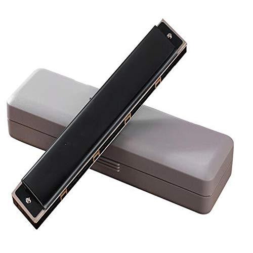 ika, 24-Loch polyphoner Anfänger Erwachsener Einstieg Professionelle Leistungsstufe, Schwarz, F-Ton [Empfehlung + Selbstlernpaket + Video-Tutorial] ( Color : Black ) ()