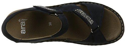ara Damen Hawaii Offene Sandalen Blau (Blau)