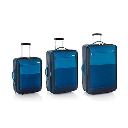 Gabol set de 3 maletas Reims cabina, mediana y grande en Polyester