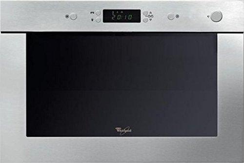 Whirlpool AMW 496 IX Intégré 22L 750W Acier inoxydable micro-onde - Micro-ondes (Intégré, 22 L, 750 W, boutons, Acier inoxydable, Poussée)