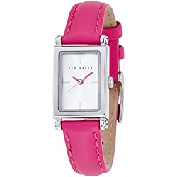 Ted Baker Ladies Stainless Steel Pink Strap Watch