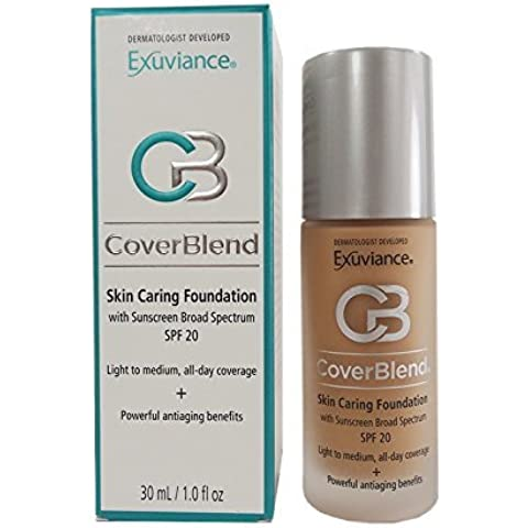 Exuviance - CoverBlend Skin Caring Foundations SPF 20 Neutral Beige by Exuviance
