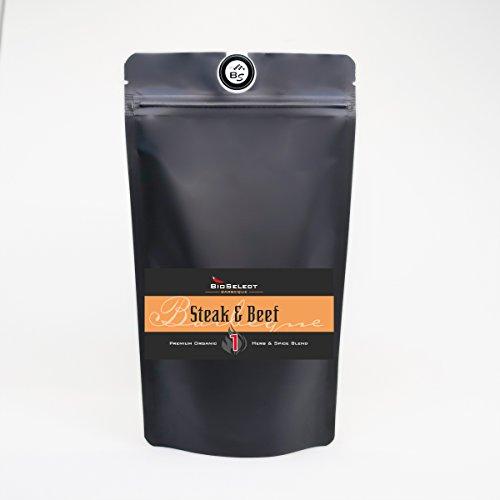 BBQ-Rub Steak & Beef No1 250 g Marinade BIO-Gewürzmischung 250 g Premium Qualität Bio Select Cowboy-steak Rub