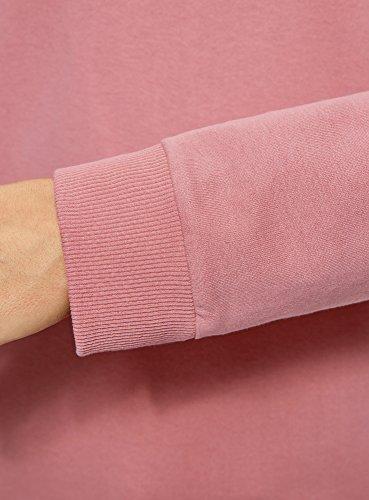 oodji Ultra Donna Felpa in Cotone (Pacco di 2) Rosa (4B00N)