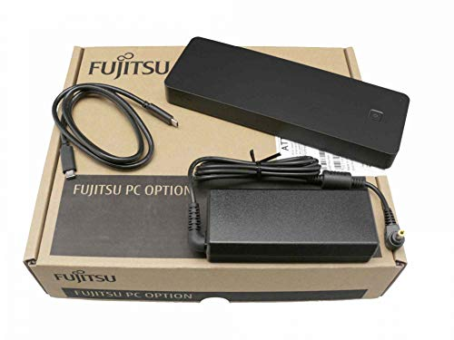 Fujitsu USB-C Port Replikator inkl. Netzteil (90W) Original für One GameStar Notebook Pro 16 (P960EP6) Serie