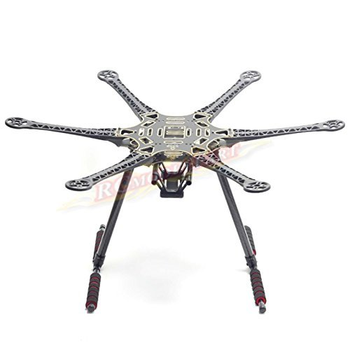 S550 F550 Upgrade Hexacopter Fuselage Frame Kit PCB w/Carbon Fiber Landing Gear by powerday? -