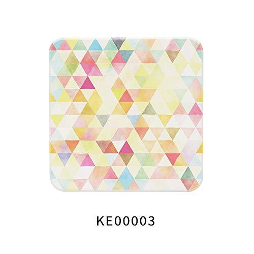 ZCHPDD Dessous De Verre D'eau De Terre De Diatomées Décoration De Bureau Isolé Nice Coaster Ke00006 10 * 10 * 0.9Cm*2Pcs