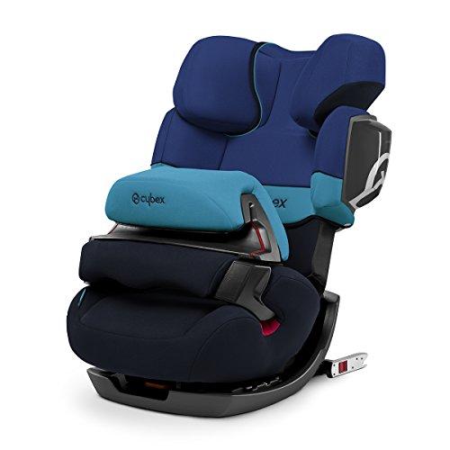CYBEX Pallas 2-Fix, siège auto Groupe 1/2/3(9–36kg) avec Isofix et bouclier, Blue...