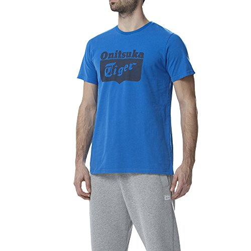 Asics -  T-shirt - Maniche corte - Uomo blu Medium