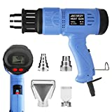 Heat Gun MOWIS 1800W Hot Air Gun with 4 Replacement Nozzles Digital LCD