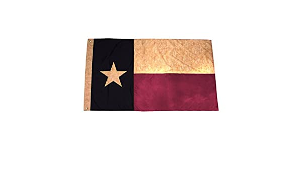 Confezione da 10 bandiera in poliestere Texas STATE Lone Star TX 3'x5'