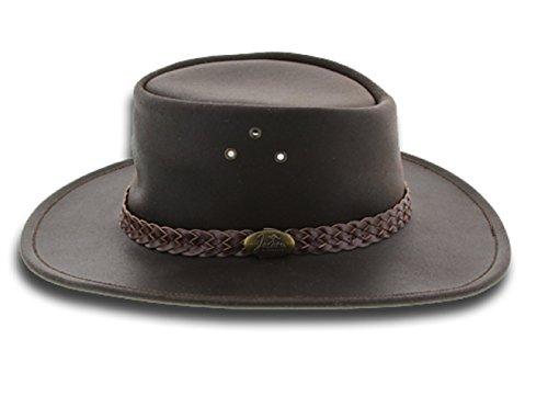 Sombrero de Piel Wallaroo Suede by Jacaru sombrero de hombresombrero de piel  (XL 59 880b121f53b