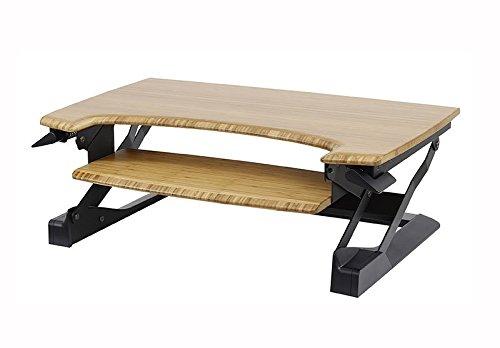 ErgotronHome Workspace Lift35 Sitz- oder Ständer, verstellbar Bambus Bambus Beste Articulating Wall Mount
