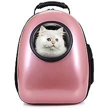 Petcomer Mochila Cápsula Impermeable Transportín en Forma de Burbuja para Mascotas Perros Gatos ...