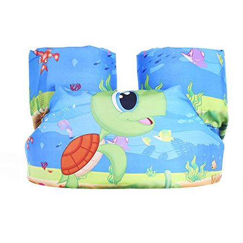 Surenhap Schwimmflügel Kinder Schwimm Schaum für Kinder und Kleinkinder von 2-6 Jahre 14-25kg(B-Meetesschildkröte)