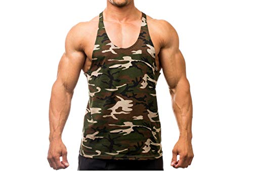 9393b62aaa5b98 ₹499.00. The Blazze Camoflage Men s Tank Tops Muscle Gym Bodybuilding Vest  Fitness Workout Train Stringers