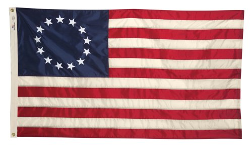 Allied Flag Historisches Banner, Betsy Ross Pull Down, 48,3 cm x 2,54 m