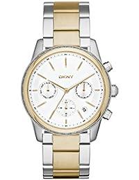 DKNY Damen-Armbanduhr Digital Quarz Edelstahl NY2333