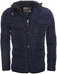 Geographical Norway Binyane - Chaqueta guateada para hombre