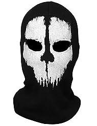 Tour de Cou Masque Cagoule Ghost - Tete de mort - Call of Duty Modern Warfare MW