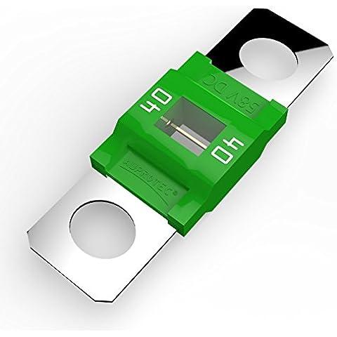 Auprotec® MIDI fusible de alto voltaje atornillable 40A - 100A selección: 40A Ampere verde, 5 piezas