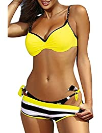 7bcba4a451d3 Amazon.es: Bikinis - Ropa de baño: Ropa: Conjuntos, Braguitas ...