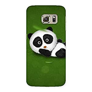Gorgeous Panda Green Grass Back Case Cover for Samsung Galaxy S6 Edge Plus